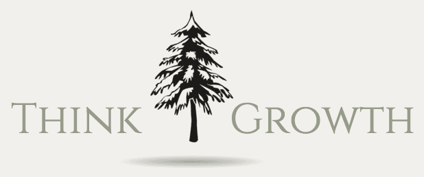Think Growth logo with tree